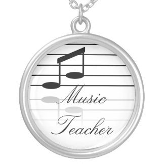 Collier Professeur de musique