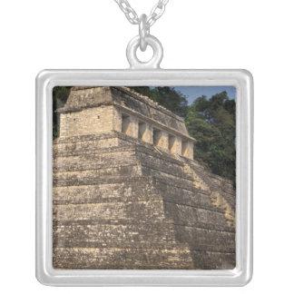 Collier Province du Mexique, Chiapas, Palenque. Temple de