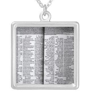 Collier Psaume de David : Psalterim Octaplums, 1516