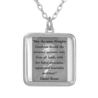 Collier Qualité toute-puissante - Daniel Boone