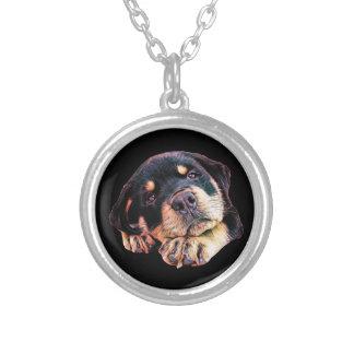 Collier Race allemande canine de chien de Rott d'amour de