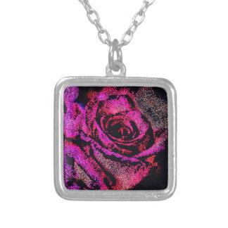 Collier Rose de rose par Camille K