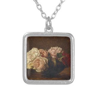 Collier Roses dans une cuvette - Henri Fantin-Latour