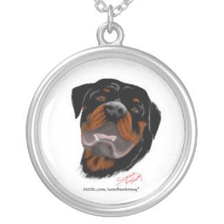 Collier Rottweiler - visage