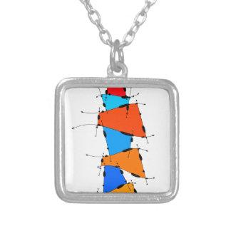 Collier Sanomessia - cubes de fonte
