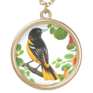 Collier sauvage d'oiseau de Baltimore Oriole