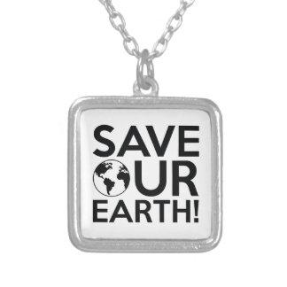 Collier Sauvez notre terre
