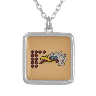 Collier Signe aztèque de jour de 12 Eagle