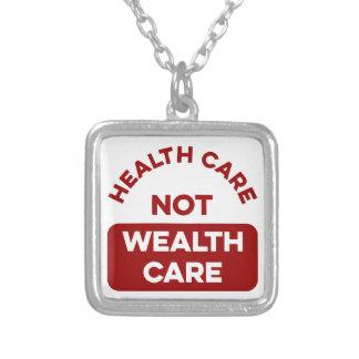 Collier Soin de richesse de soins de santé pas