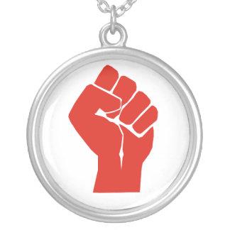 Collier Solidarité avec les syndicats du Wisconsin