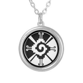 Collier Symbole maya Hunab Ku de divinité