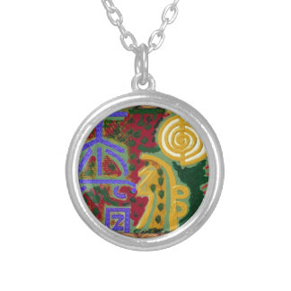 Collier Symboles curatifs de Reiki par l'artiste Canada de