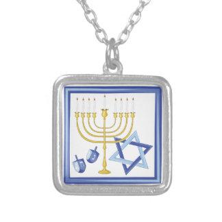 Collier Symboles de Hannukah