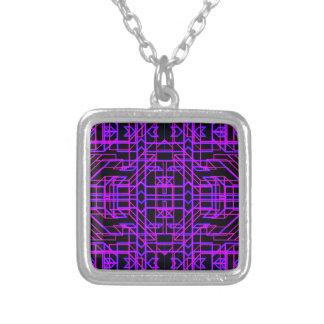 Collier Temps infini au néon 9