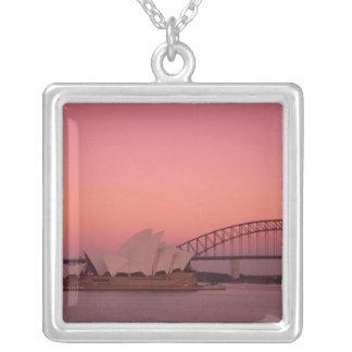 Collier Théatre de l'opéra de Sydney et port, nouveau sud