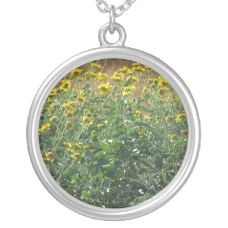Collier Tournesols sauvages