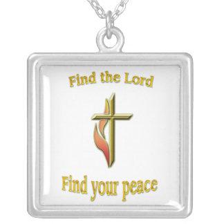 Collier Trouvez le seigneur pour trouver votre paix