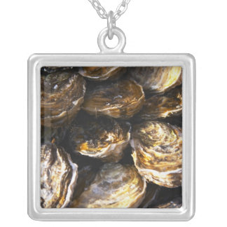 Collier Un plat des huîtres