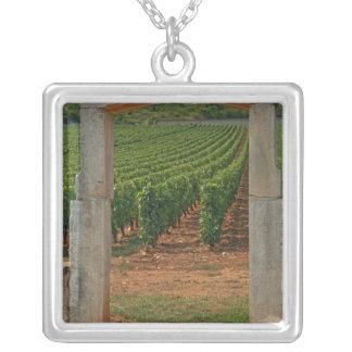 Collier Un portique en pierre au vignoble