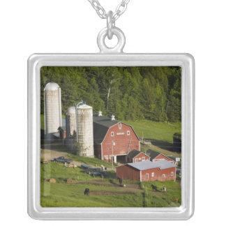 Collier Une ferme au centre de Barnet, Vermont. Le