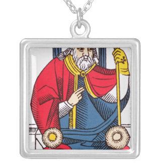 Collier V le pape, carte de tarot