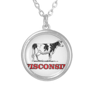 Collier vache rouge au Wisconsin