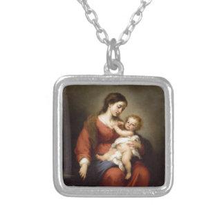 Collier Vierge et enfant du Christ