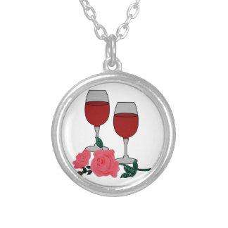 Collier Vin et roses