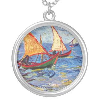 Collier Vincent van Gogh - la mer chez Saintes Maries