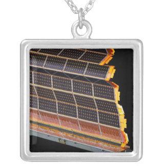 Collier Vue en gros plan des rangées solaires