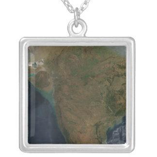 Collier Vue satellite de l'Inde centrale