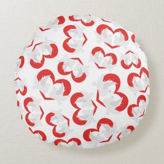Colombes de paix d'illustration de motif avec le coussins ronds