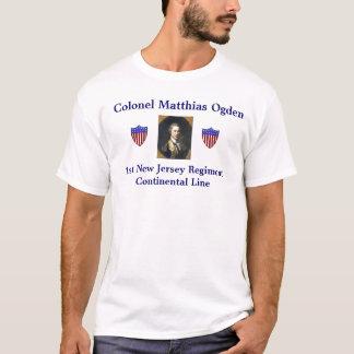 Colonel Matthias Ogden T-shirt
