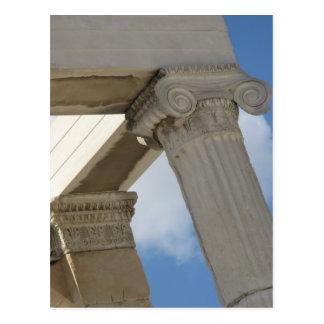 Colonnes architecturales du grec ancien cartes postales