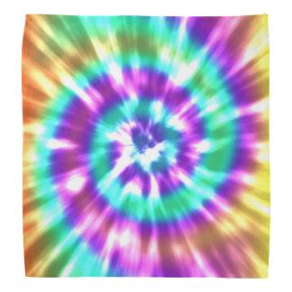 Colorant Boho coloré de cravate de paix de hippie Bandana