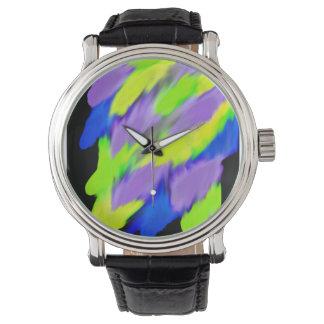 Coloré lumineux montres bracelet
