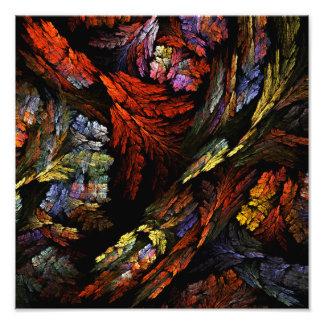 Colorez la copie de photo d'art abstrait d'harmoni