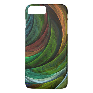 Colorez l'art abstrait de gloire coque iPhone 7 plus