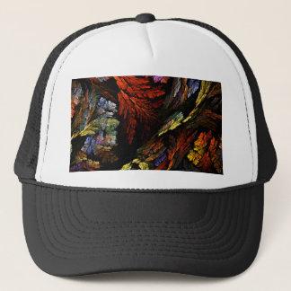 Colorez le casquette d'art abstrait d'harmonie