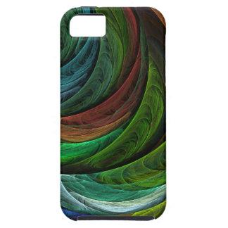 Colorez l'iPhone 5 d'art abstrait de gloire Étuis iPhone 5