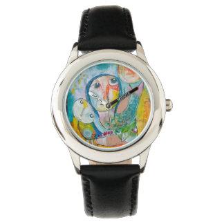 Colorfull de peinture sur votre montre