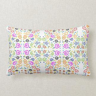 colorfull décorant le coussin de motif