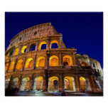 Colosseum Rome Affiches