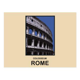 Colosseum Rome Italie Carte Postale