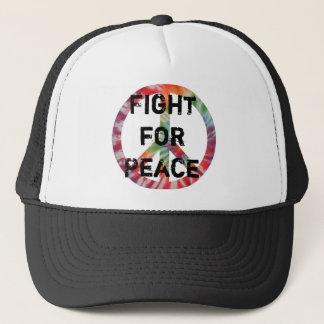 Combat pour le casquette de paix