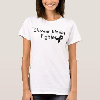 Combattant chronique de maladie t-shirt