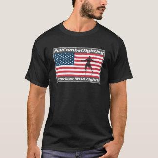 Combattant d'Américain de MIXED MARTIAL ART T-shirt