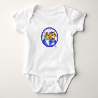 Combinaison de bébé de poumon de Koi de bébé Body