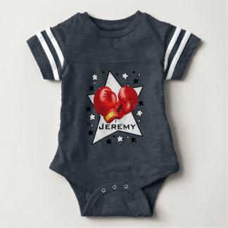 Combinaison de boxe de vêtement une pièce de bébé body