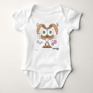 Combinaison du Jersey de bébé de lapin Body